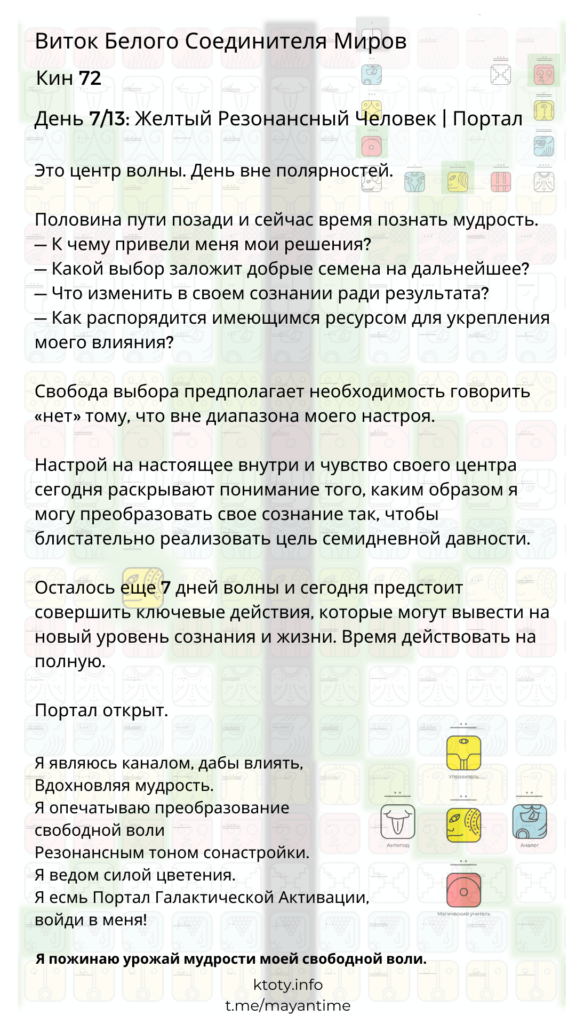 72 Желтый Резонансный Человек | Портал